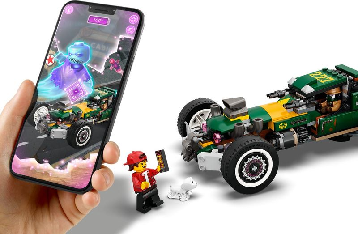 LEGO® Hidden Side Supernatural Race Car gameplay