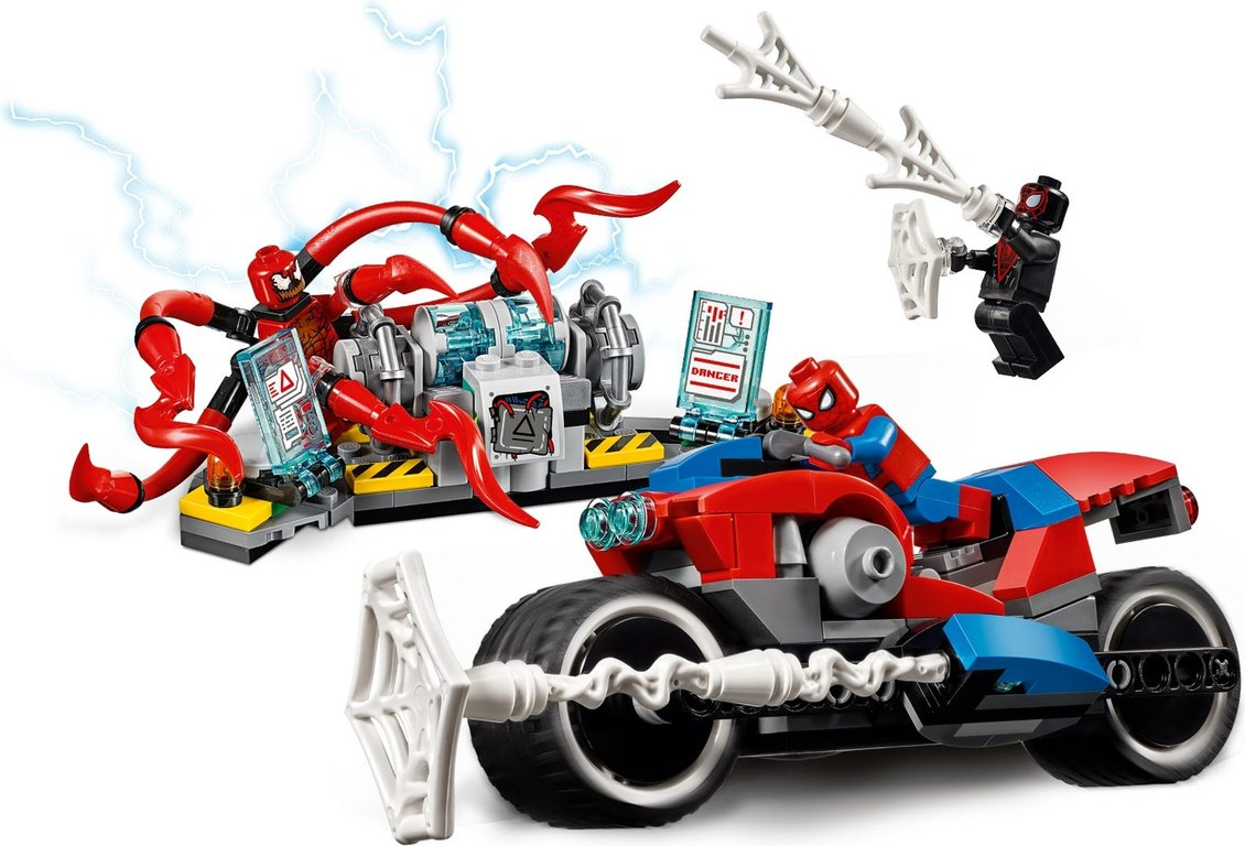 LEGO® Marvel Spider-Man Bike Rescue components