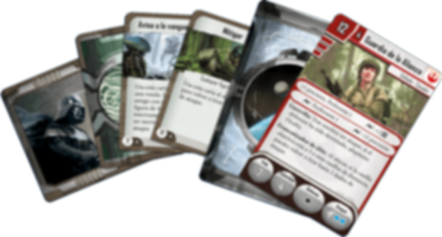 Star Wars: Imperial Assault - Alliance Rangers Ally Pack cards