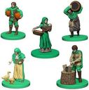 Agricola Game Expansion: Green miniatures
