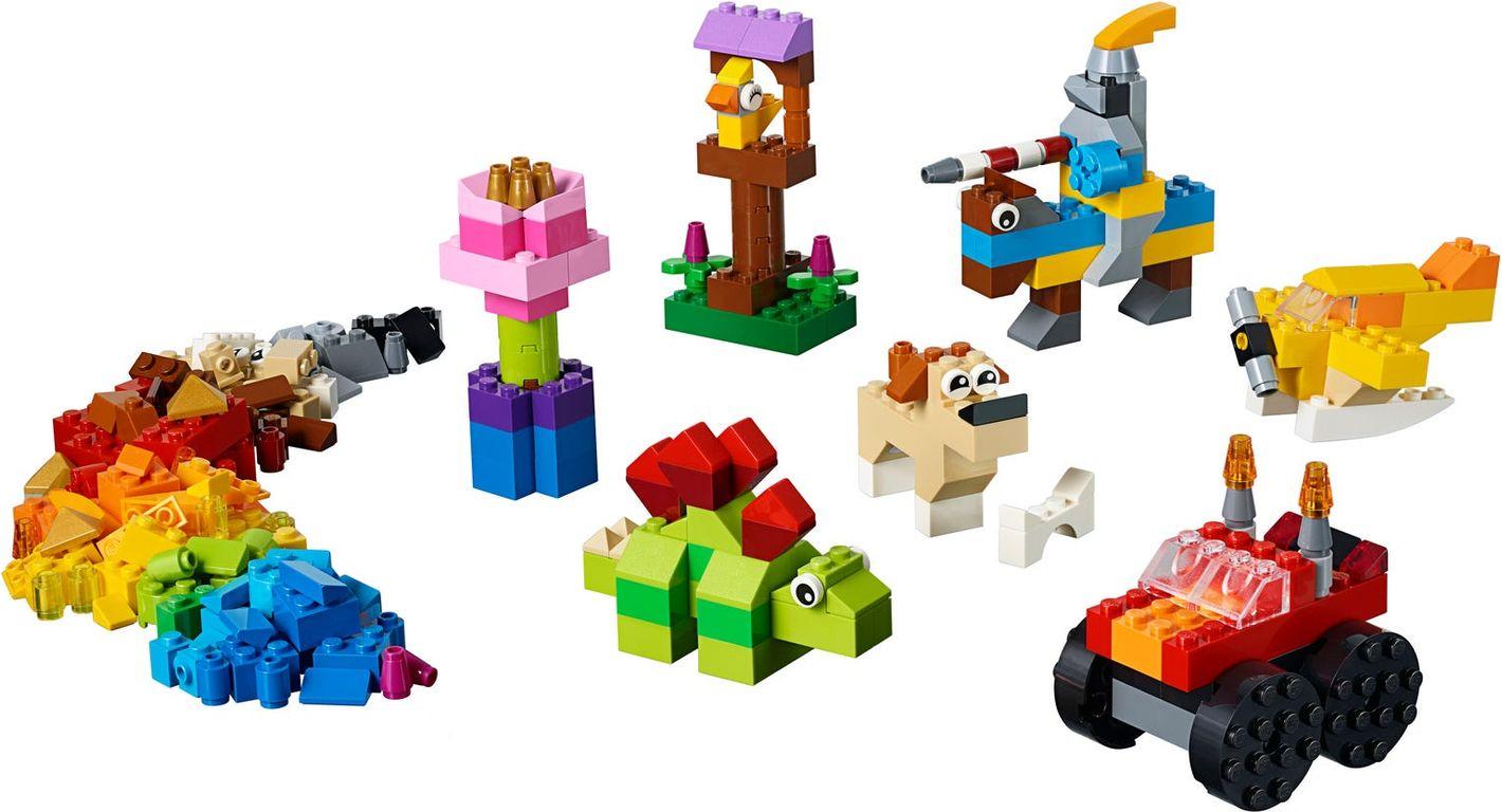 Basic Brick Set components