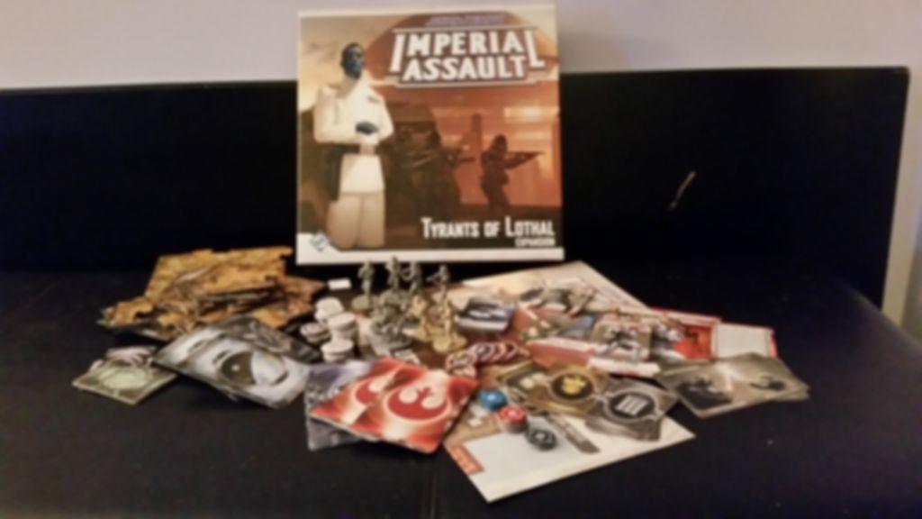 Star Wars: Assalto Imperiale – Tiranni di Lothal componenti