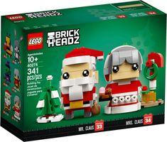 LEGO® BrickHeadz™ Mr. & Mrs. Claus