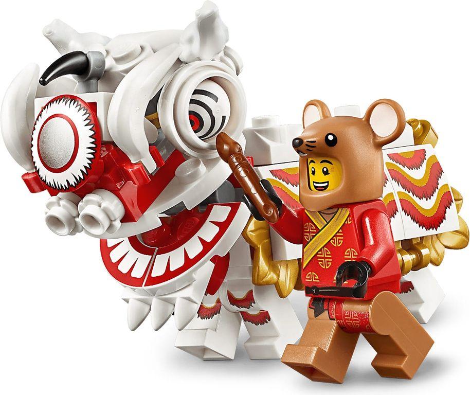 Lion Dance characters