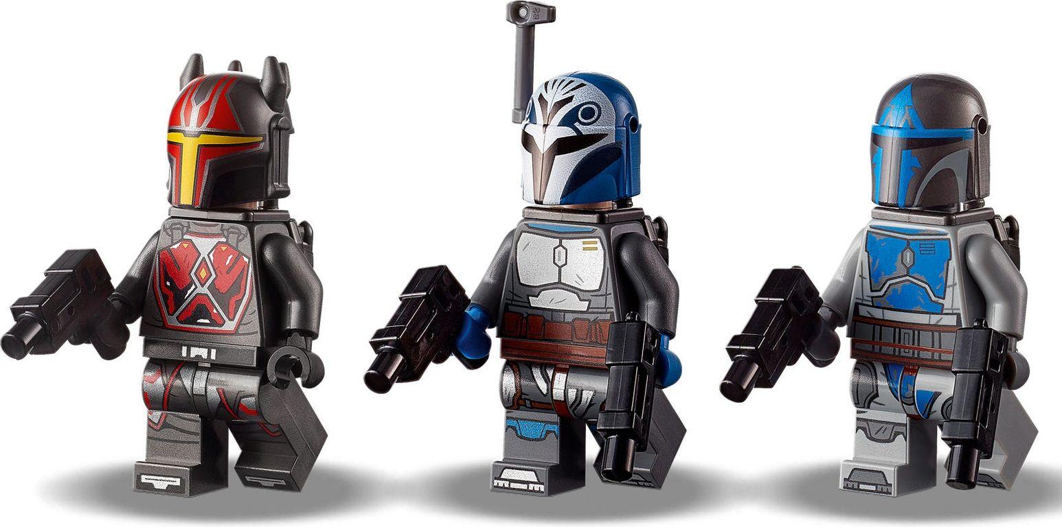 LEGO® Star Wars Mandalorian Starfighter™ minifigures