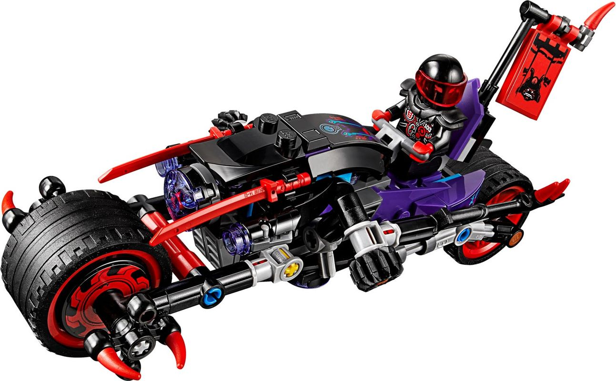 Street Race of Snake Jaguar components