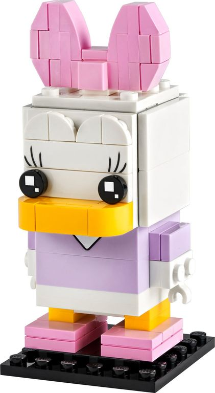 LEGO® BrickHeadz™ Daisy Duck components