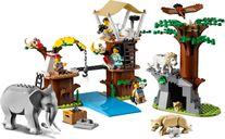LEGO® City Wildlife Rescue Camp components