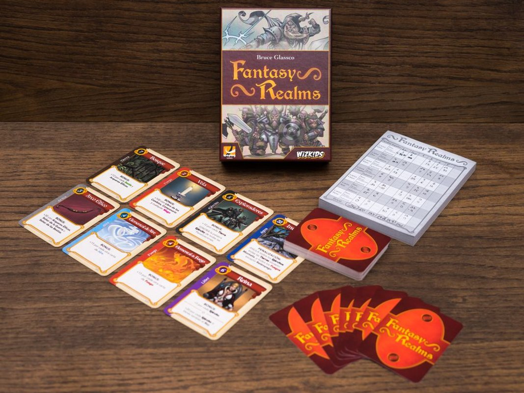 Fantasy Realms components