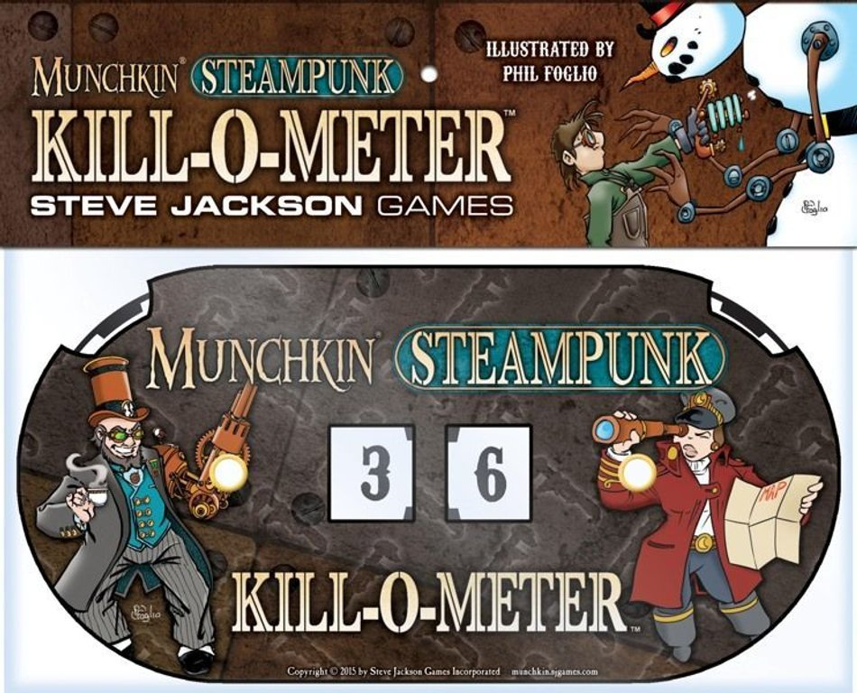Munchkin Steampunk components