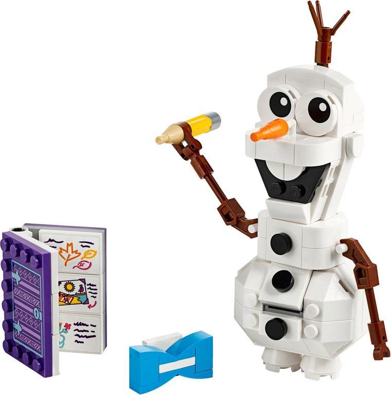 LEGO® Disney Olaf components