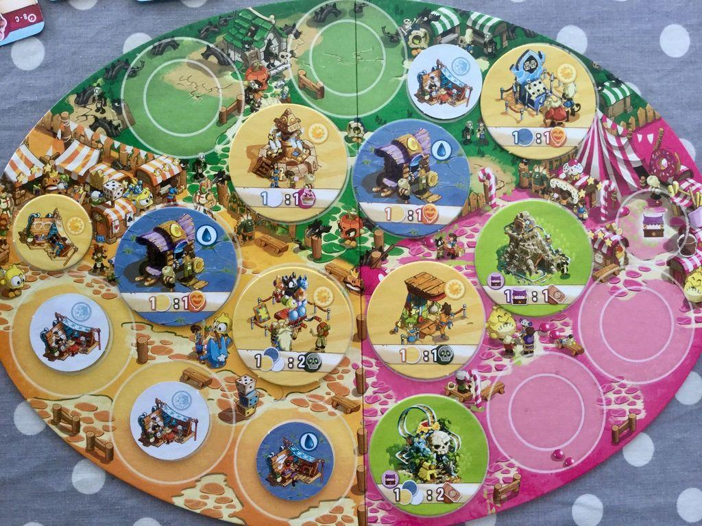 Trool Park game board
