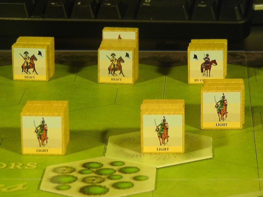 Commands & Colors: Napoleonics Expansion #1 - The Spanish Army components