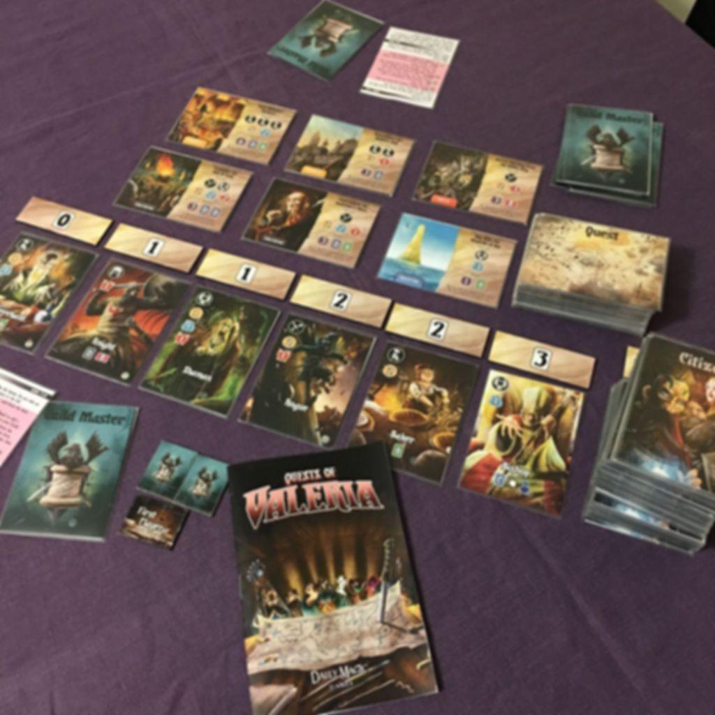 Quests of Valeria gameplay