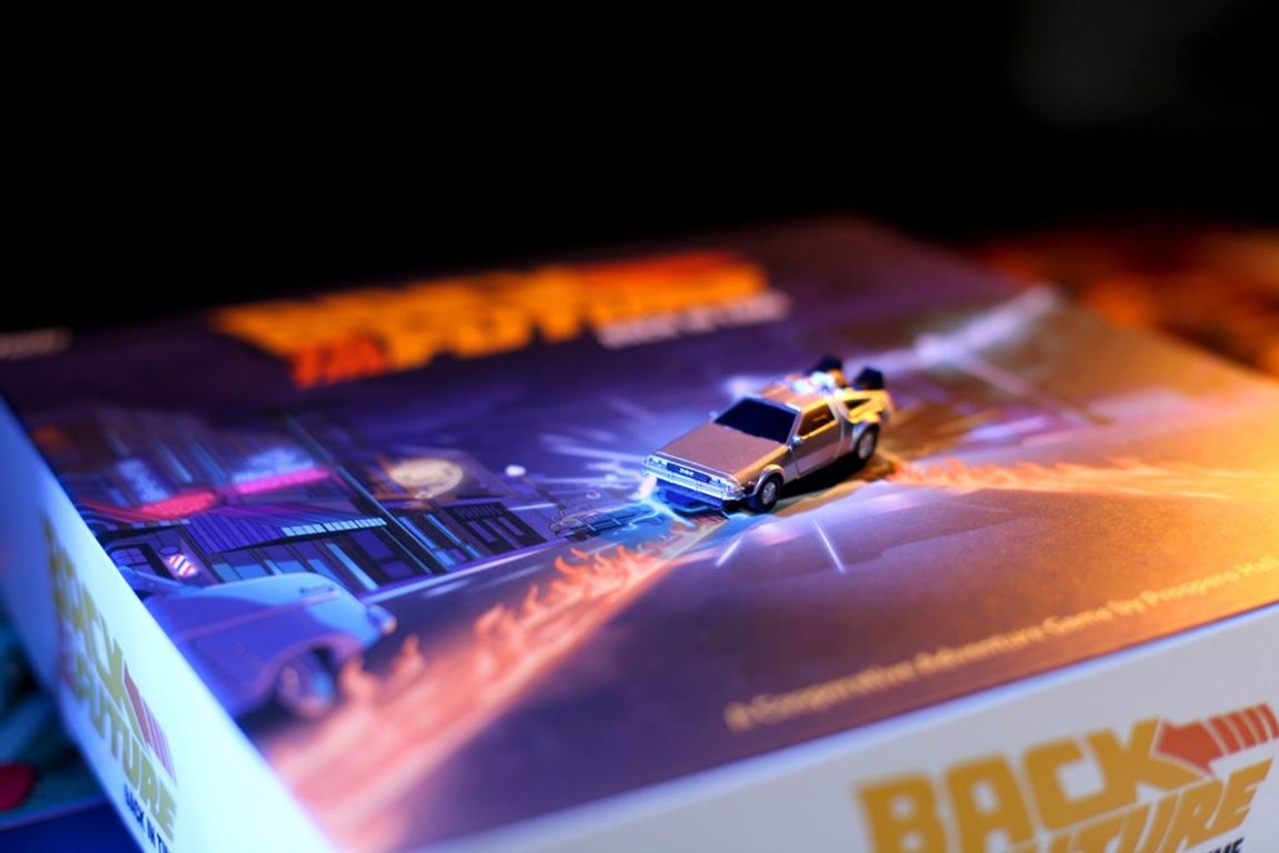 Back to the Future: Back in Time components