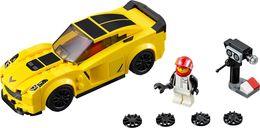LEGO® Speed Champions Chevrolet Corvette Z06 components