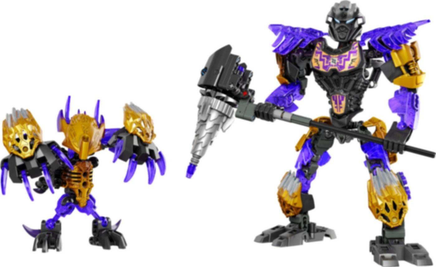 LEGO® Bionicle Onua Uniter of Earth gameplay