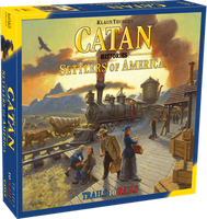 Catan Histories: Settlers of America - Trails to Rails