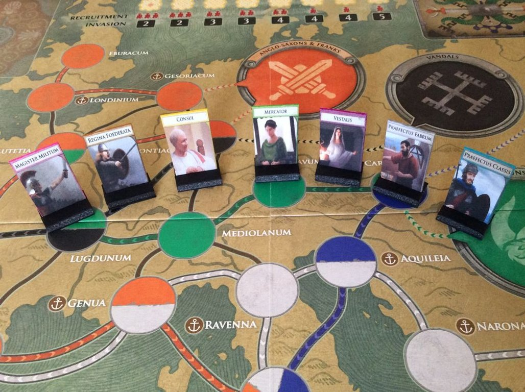 Pandemic: Fall of Rome components