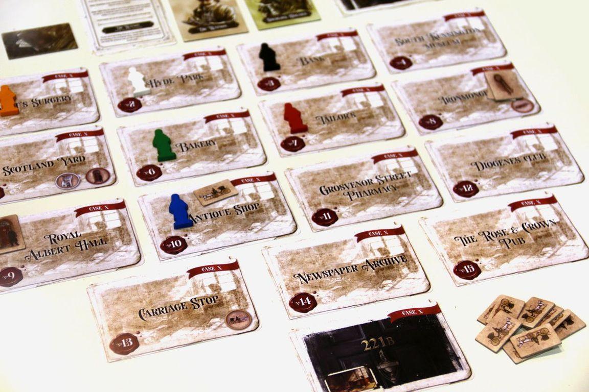 Watson & Holmes cards
