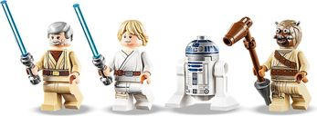 LEGO® Star Wars Obi-Wan's Hut minifigures