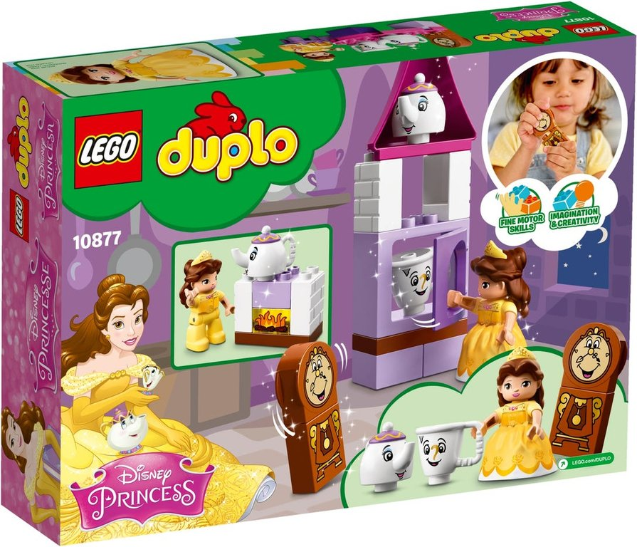 LEGO® DUPLO® Belle´s Tea Party back of the box