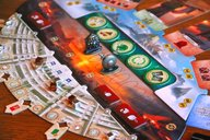 7 Wonders Duel: Agora components