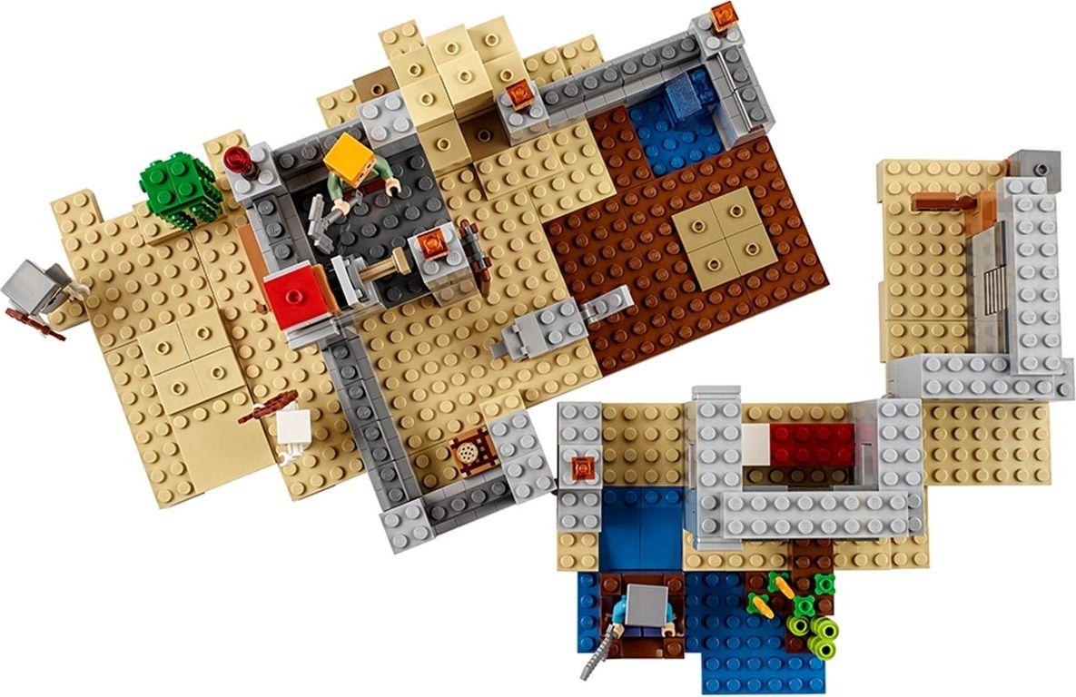 LEGO® Minecraft The Desert Outpost interior