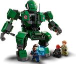 LEGO® Marvel Captain Carter & The Hydra Stomper components