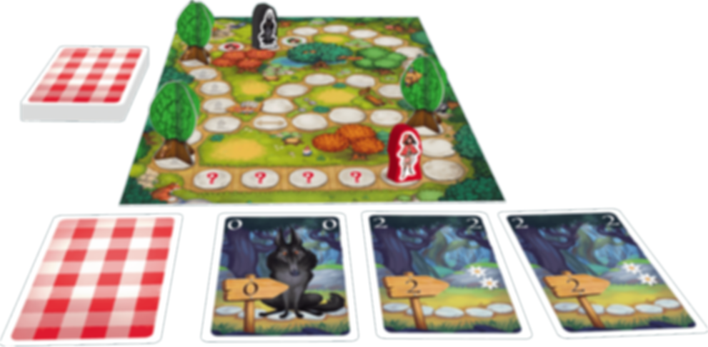 Tales & Games: Little Red Riding Hood components
