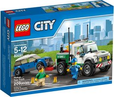 LEGO® City Pickup Tow Truck