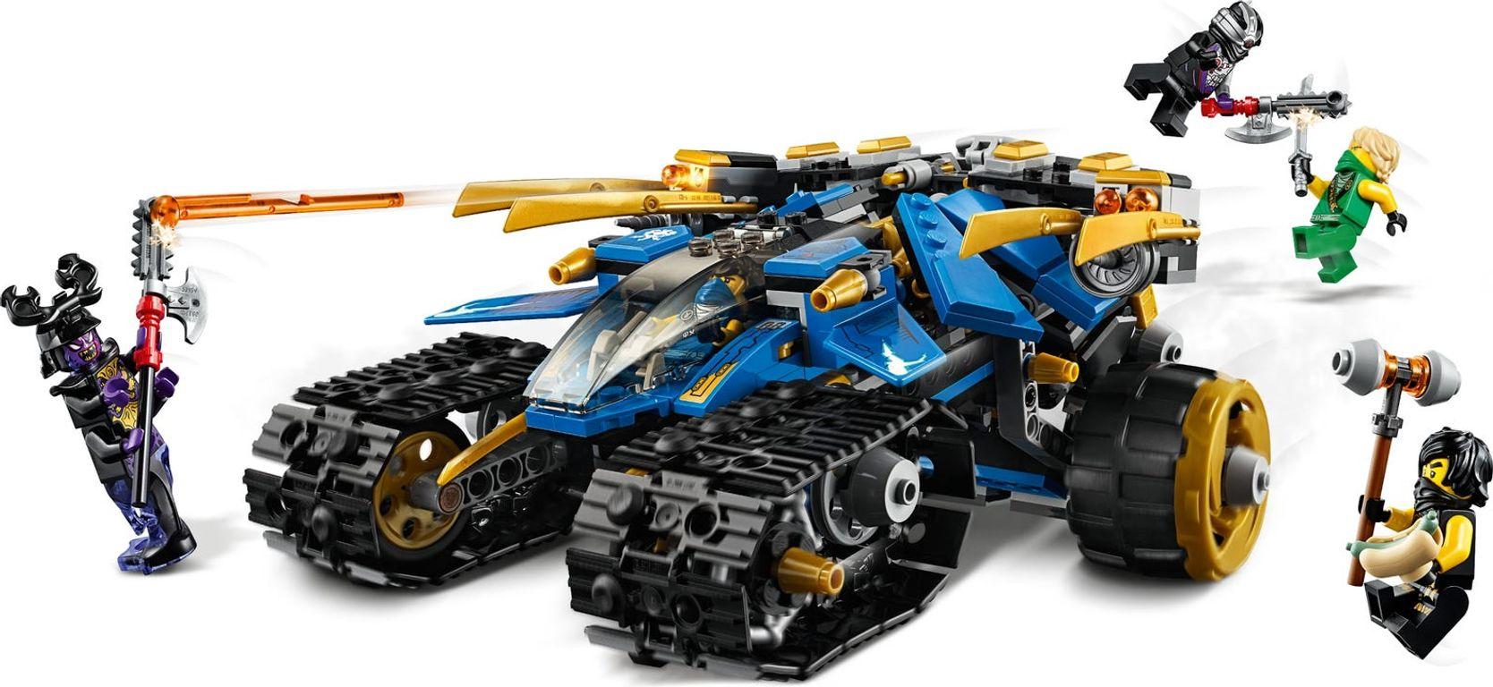 LEGO® Ninjago Thunder Raider components