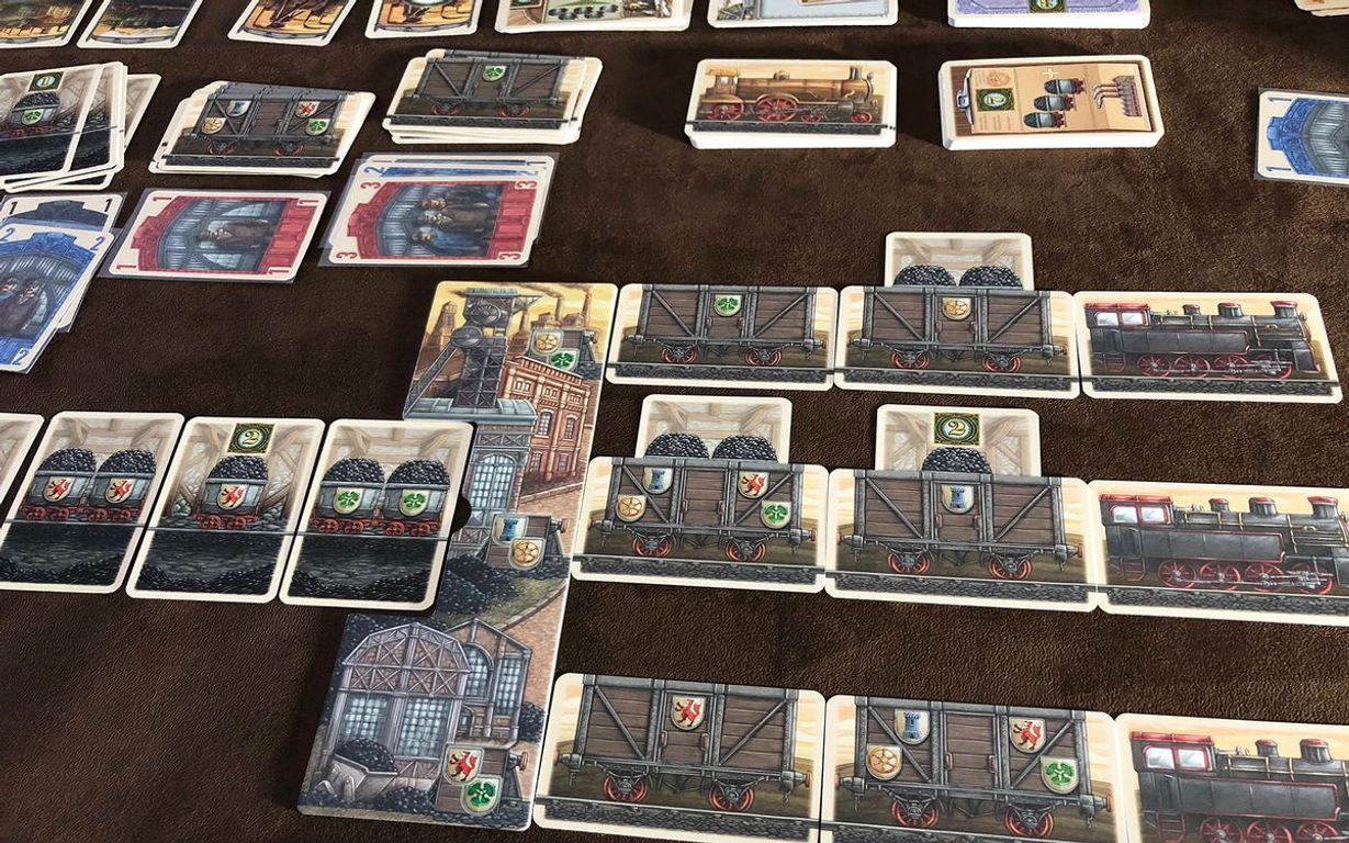 Coal Baron: The Great Card Game gameplay