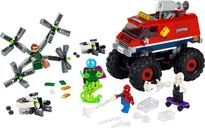 Spider-Man's Monster Truck vs. Mysterio components