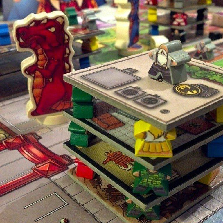 Terror in Meeple City gameplay
