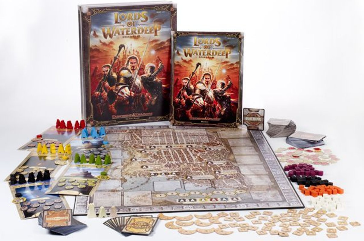 Dungeons & Dragons: Lords of Waterdeep partes