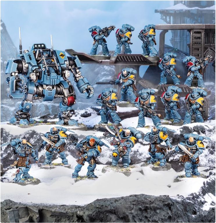 Warhammer 40.000 Combat Patrol: Space Wolves miniatures