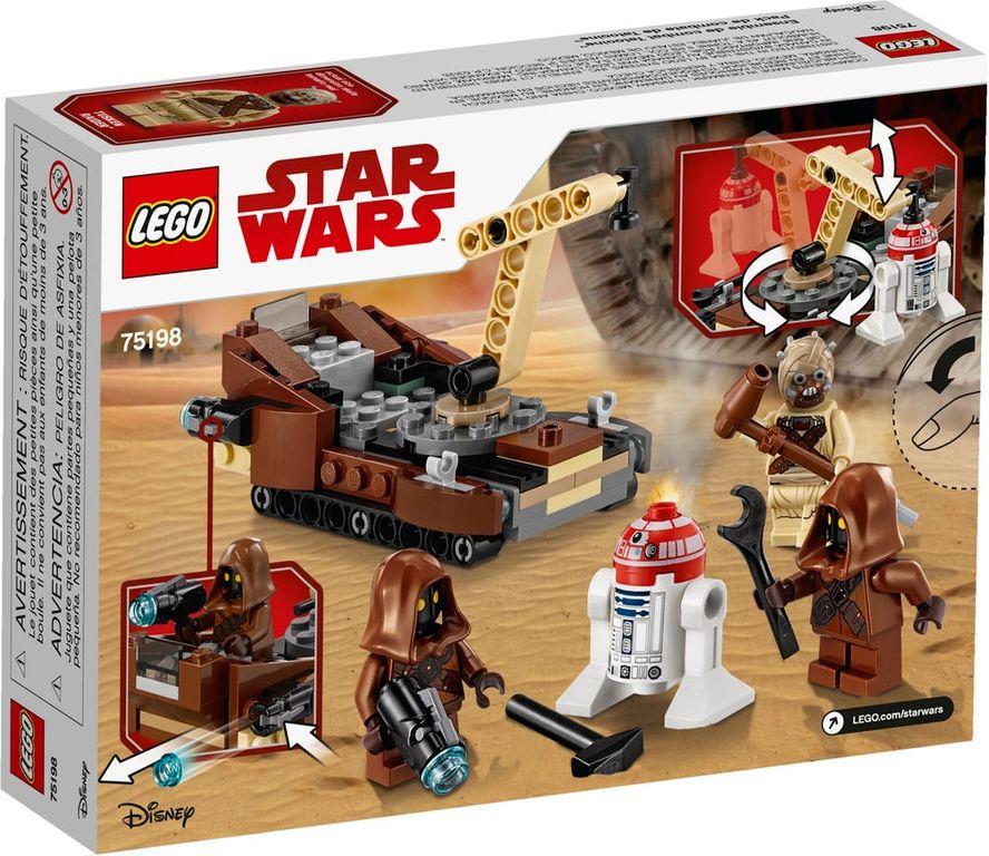LEGO® Star Wars Tatooine™ Battle Pack back of the box