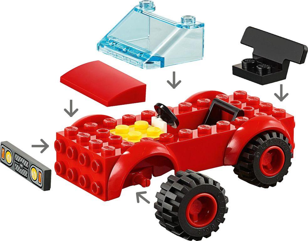 LEGO® City Garage Center components