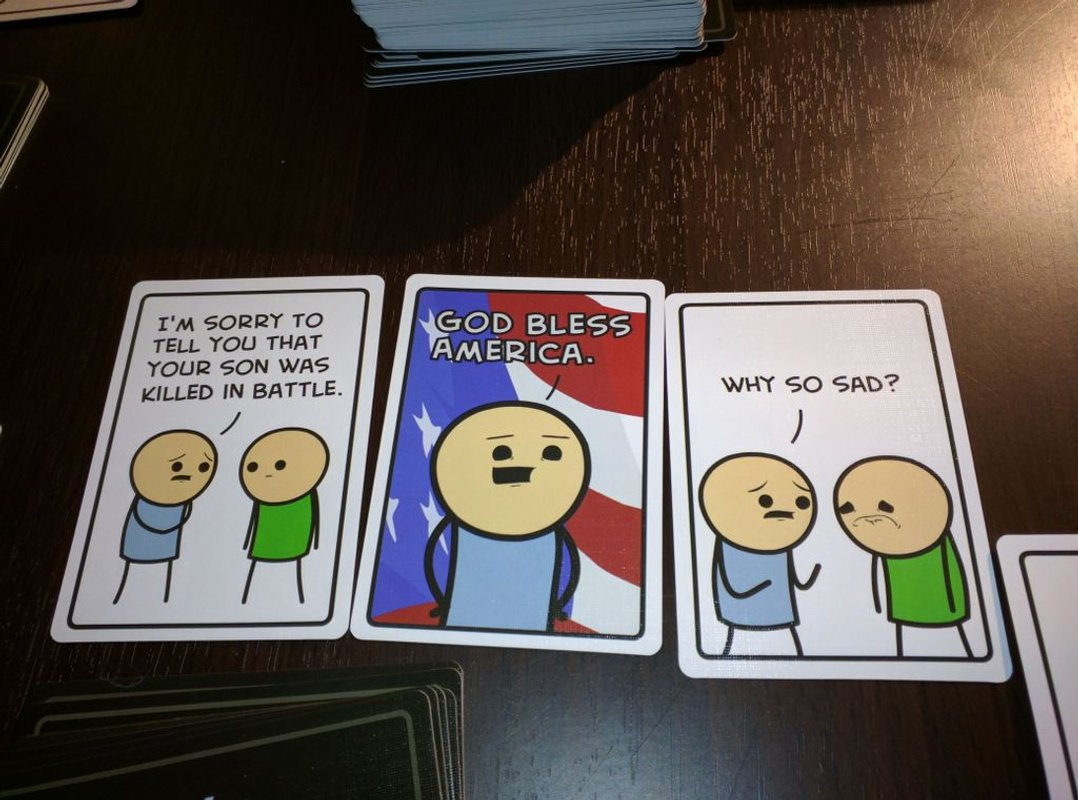 Joking Hazard cards