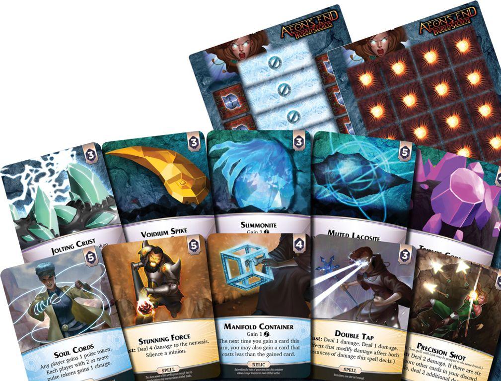 Aeon's End: Buried Secrets cards
