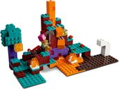 LEGO® Minecraft The Warped Forest components