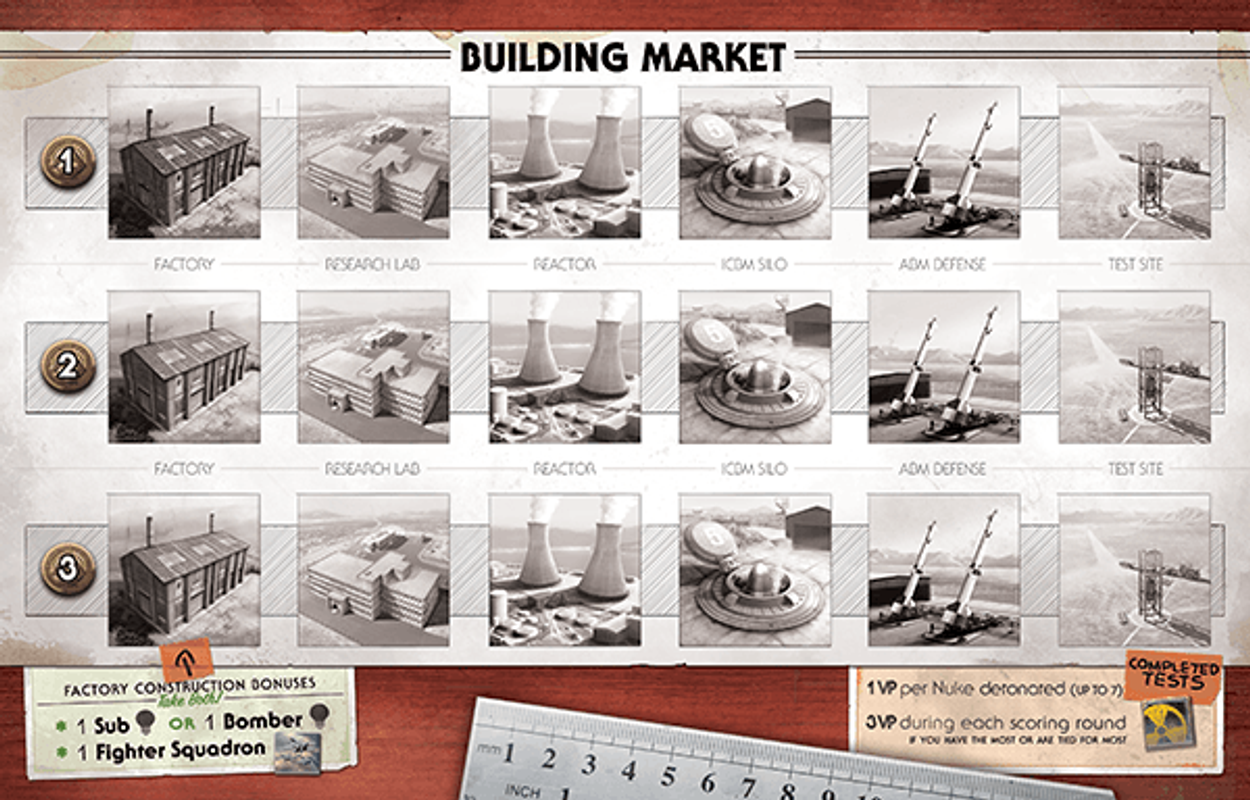 The Manhattan Project 2: Minutes to Midnight components