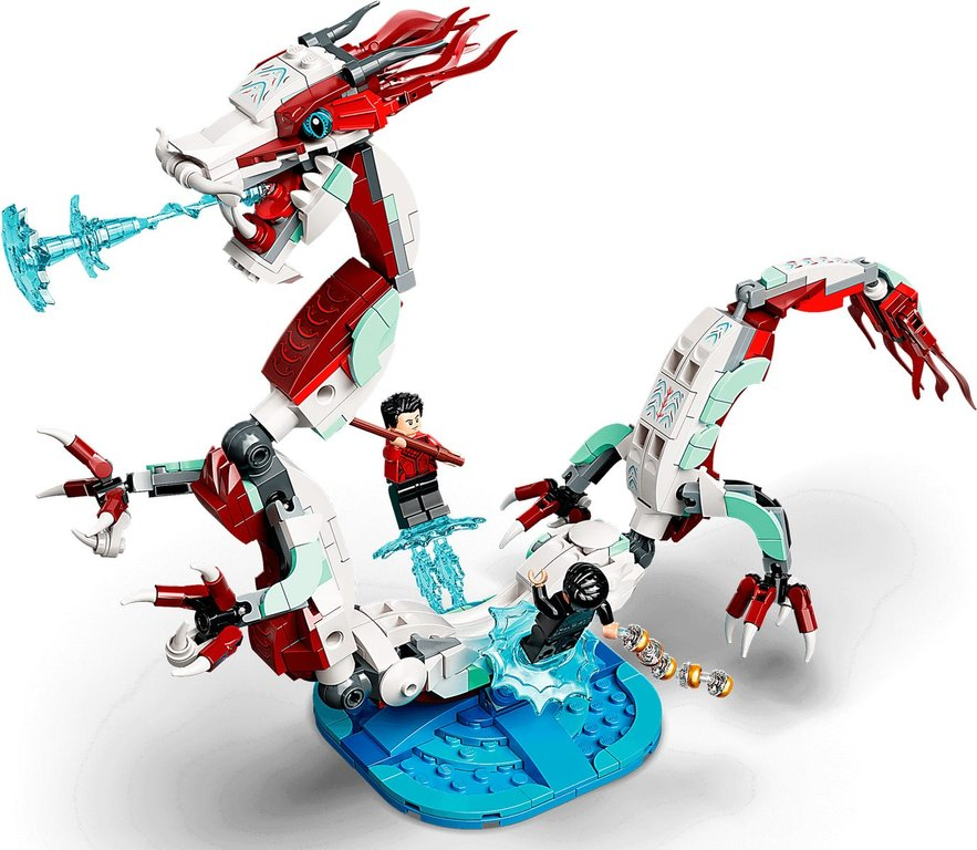 LEGO® Marvel Battle at the Ancient Village components