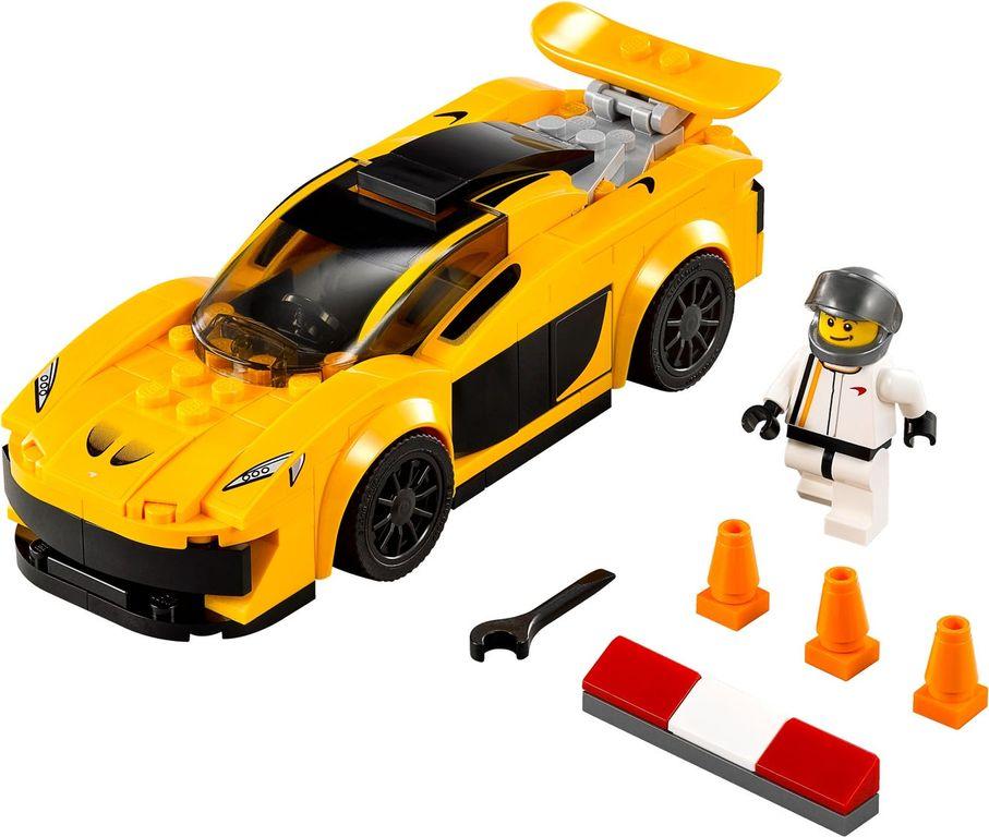 LEGO® Speed Champions McLaren P1™ components