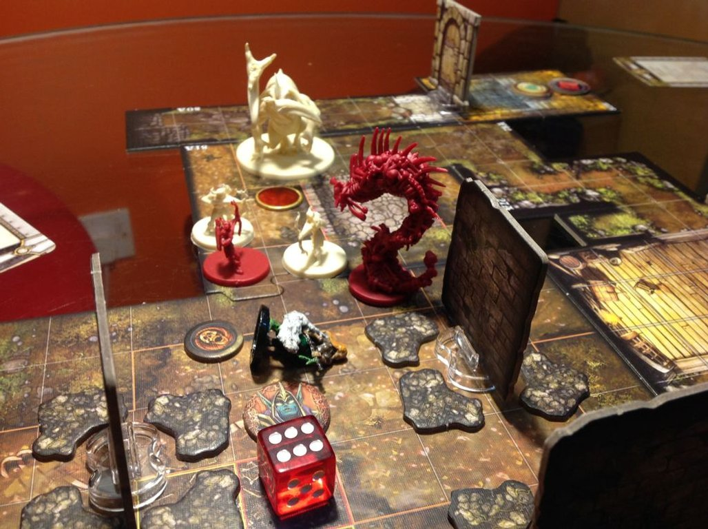 Descent: Journeys in the Dark (Second Edition) - Mists of Bilehall gameplay