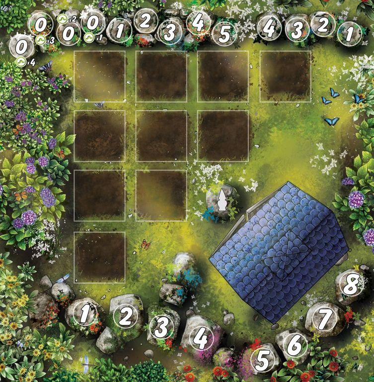 Papillon game board