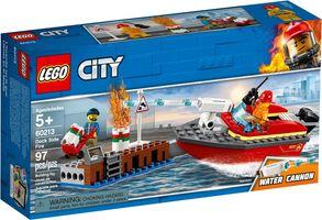 LEGO® City Dock Side Fire