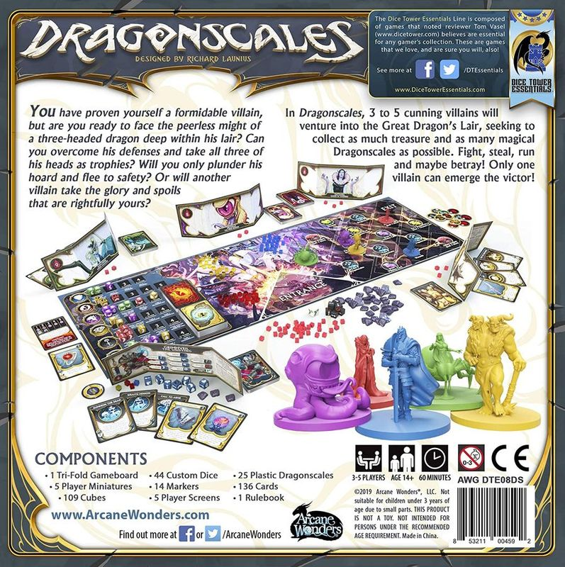 Dragonscales back of the box