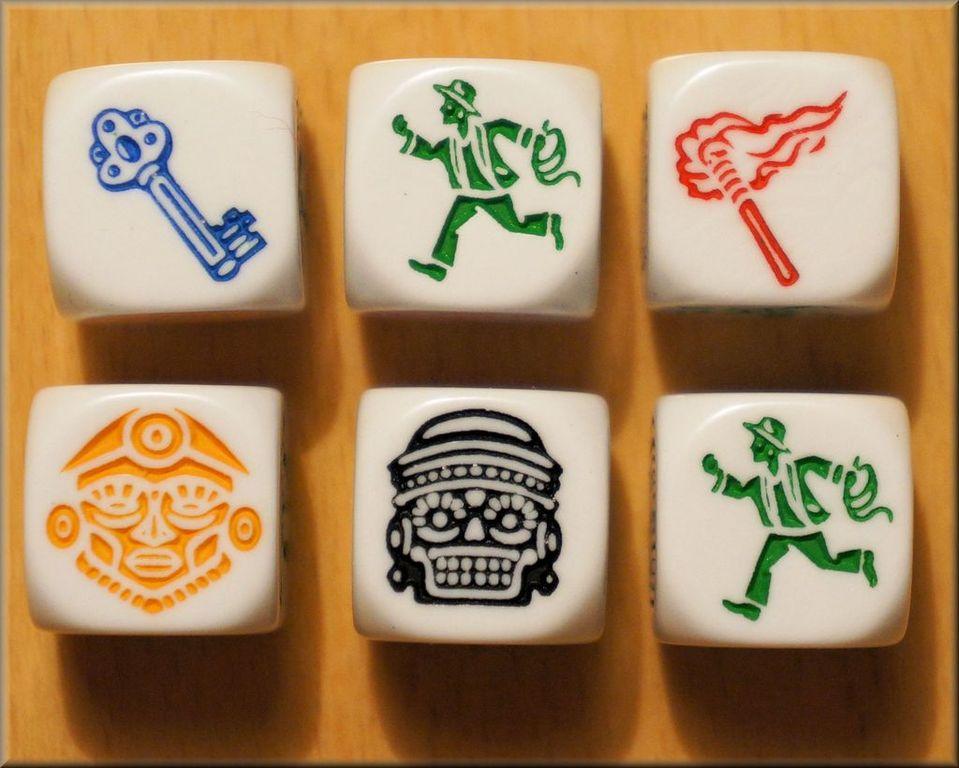 Escape: The Curse of the Temple dice